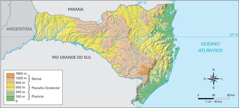 Santa Catarina Geografia