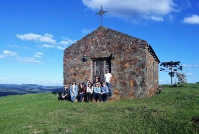 Visita à Abreu Garcia, em Campo Belo do Sul