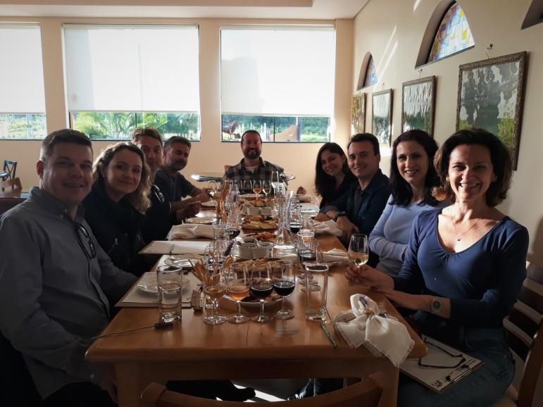 Viagem de Estudo_Mesa de Degustação Leone di Venezia (2)