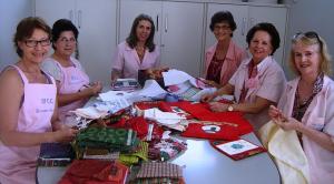 Voluntárias Rede Feminina de Combate ao Câncer Florianópolis