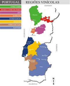 Regiões Vinícolas de Portugal