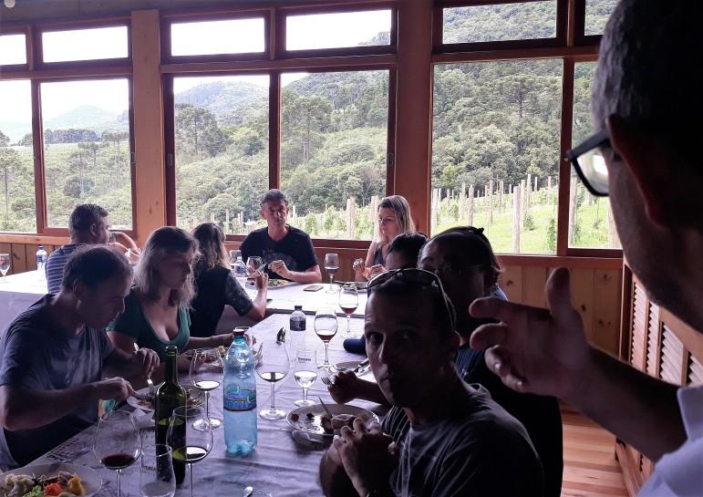 Almoço na Vinhas da Serra_por Marcia Amaral